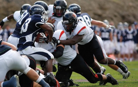 Football defeated by No. 20 Alfred University in Empire 8 matchup, 21-3