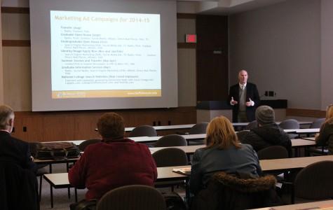 Relations Department discusses college recruitment plans