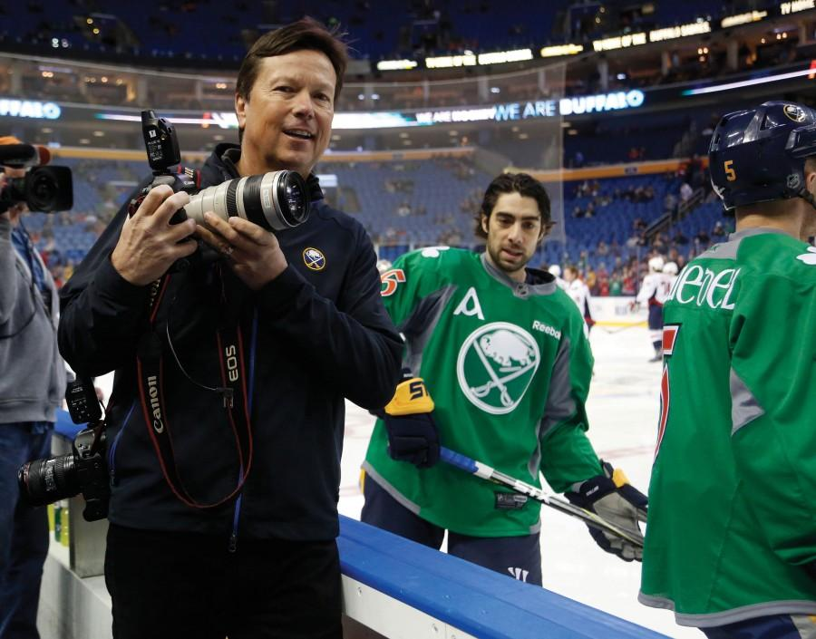 SUNY Buffalo State graduate Bill Wippert is closing out his 40th season photographing Buffalo Sabres hockey. Wippert worked at The Record during his tenure at Buffalo State