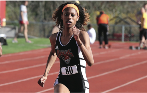 Jazmin Dunham and the women's outdoor track and field team closed out the regular season strong.