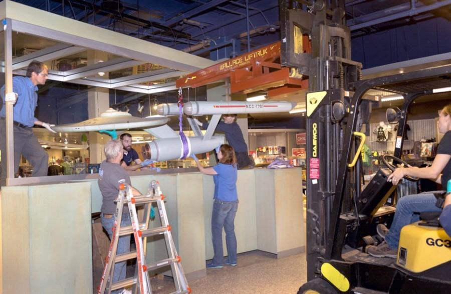 Buffalo State alumnus, grad students restore Star Treks USS Enterprise