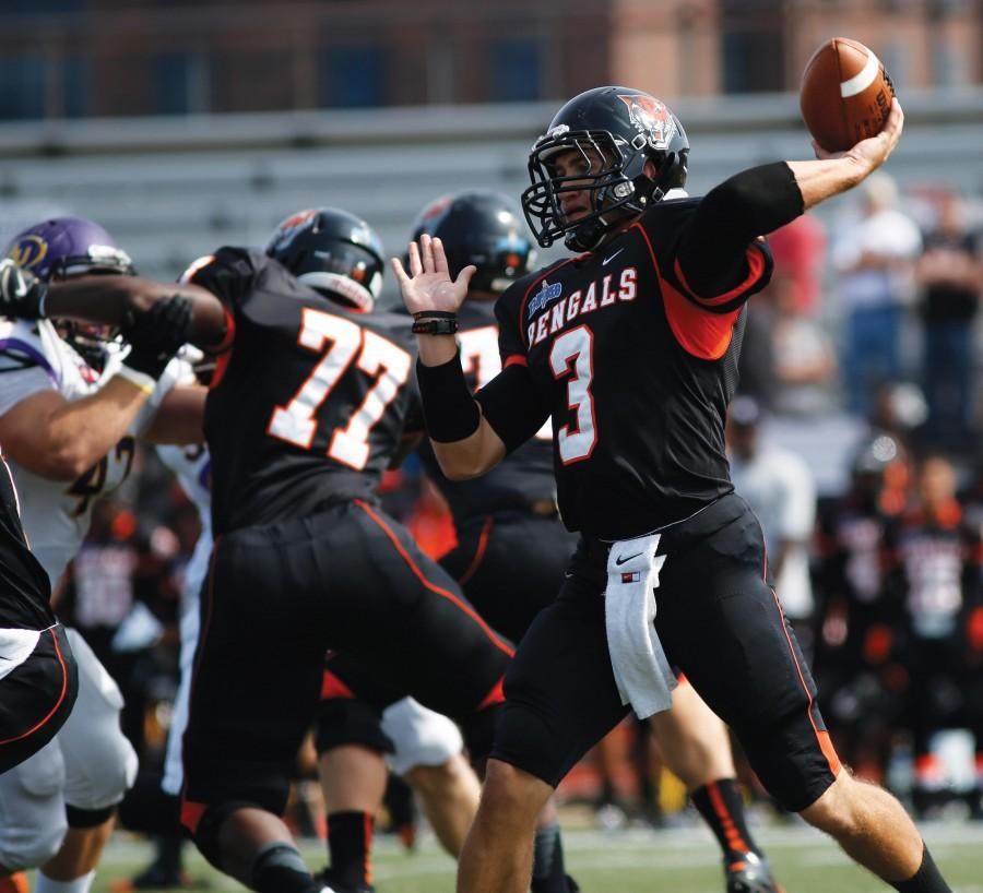 Junior+quarterback+Kyle+Hoppy+returns+after+leading+the+Bengals+to+an+ECAC+Championship+in+2014.