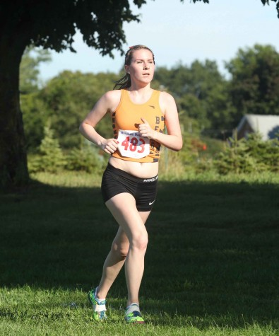 Kat McNamara finished 31st of 205 runners at the Genny Invite.