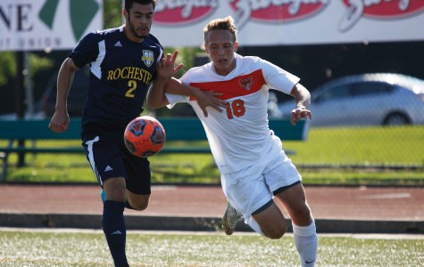 Men's soccer begins SUNYAC play, starts strong