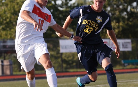 Men's soccer wins first game at Fredonia Classic in 3 years