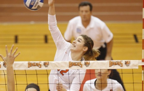 Volleyball pummels Potsdam