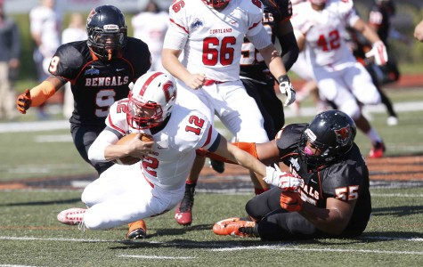 Second-half comeback pushes Buffalo State to upset win over No. 18 Cortland, 29-21