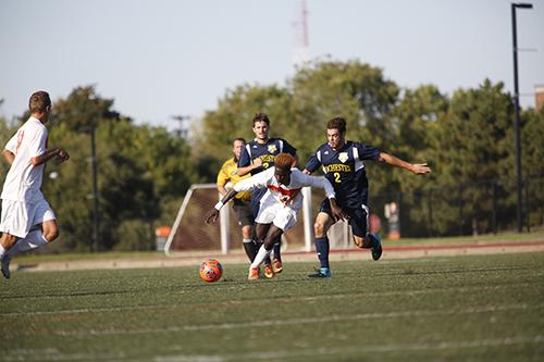Freshman bass Sarr finished the regular season second on the team with 7 goals.