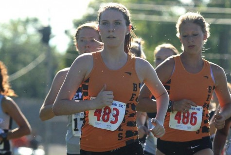 Senior Kat McNamara finished 134th with a time of 23:55 at Oberlin.
