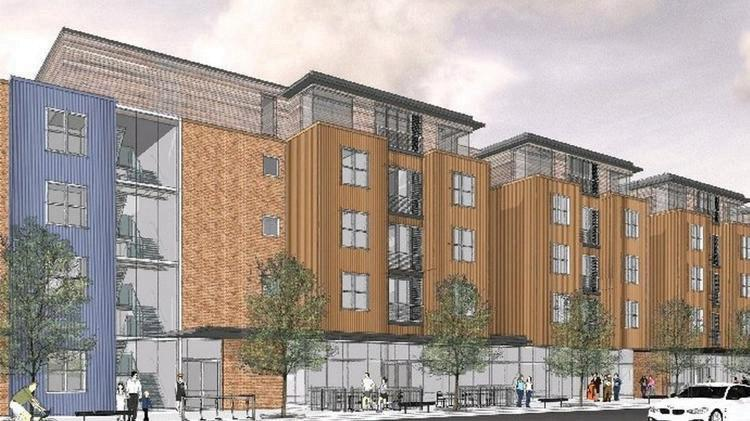 The proposed housing project by Greenleaf is set to begin in sping of '16.