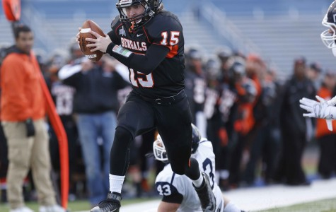 Late score pushes football past Ithaca
