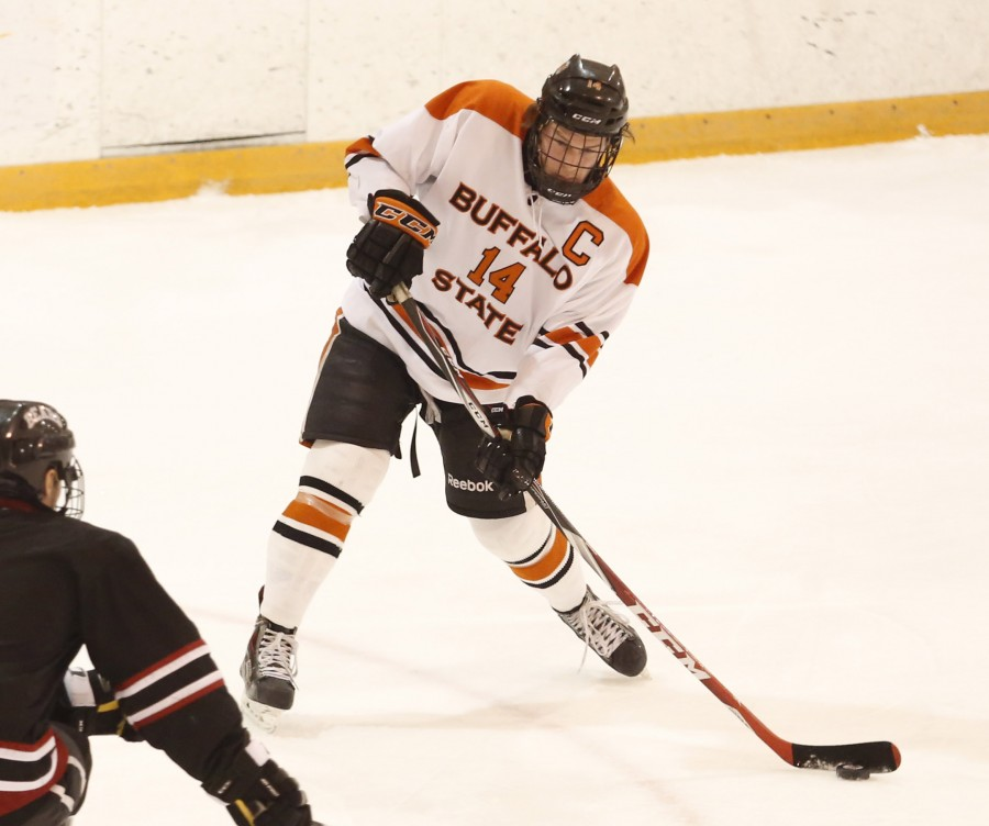 Senior forward Cory Gurski and the Bengals swept a weekend series against SUNY Canton this past weekend.