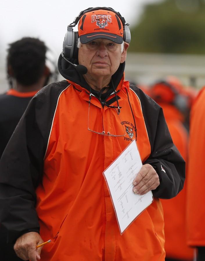 Longtime Buffalo State offensive line coach Gene Zinni passed away Thursday.
