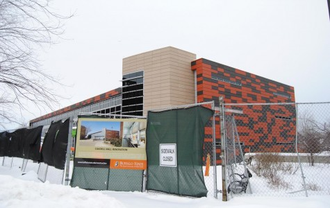 Construction continues at Buffalo State as Caudell Hall enters final renovation phase