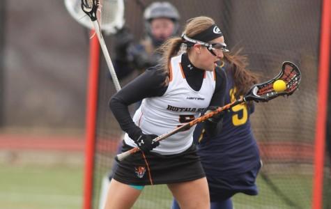Women's lacrosse: Bengals split, Herne shines