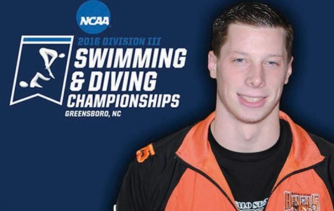 Connor Mergler could become the first Buffalo State All-American swimmer in forty years.
