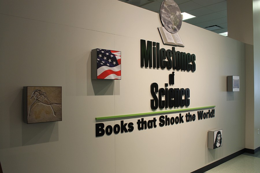 The+Milestones+of+Science+exhibit+is+open+to+the+public+at+no+cost+seven+days+a+week.
