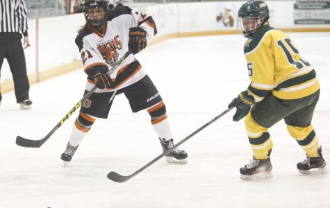 Oswego's stout goaltending stalls women's hockey