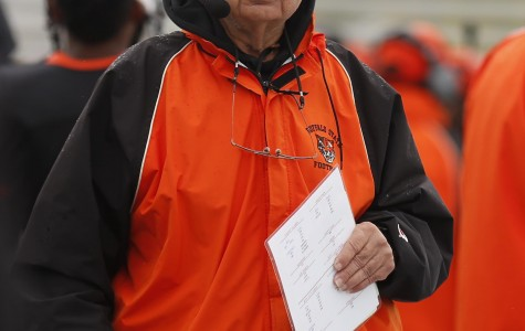 Buffalo State football offensive line coach Gene Zinni coached football at many different levels in the area for over 50 years