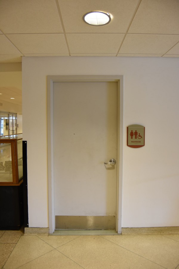 Along with their current locations, a gender neutral bathroom is under construction in Caudell Hall, too.