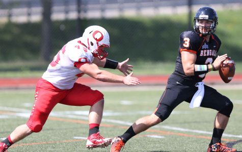 Buffalo State's passing attack lights up Red Dragons in 39-21 win
