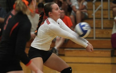 Bengals bounce back, defeat D'Youville in four sets