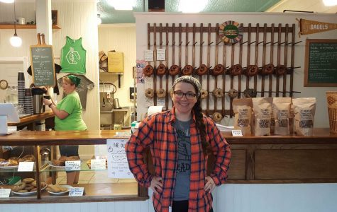 Valerie-Rettburg Smith (pictured above), 29, has been co-owner of the Breadhive bakery since April of 2015.