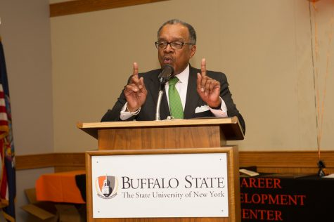 Retiring VP Hal Payne reflects on 27 years at Buffalo State