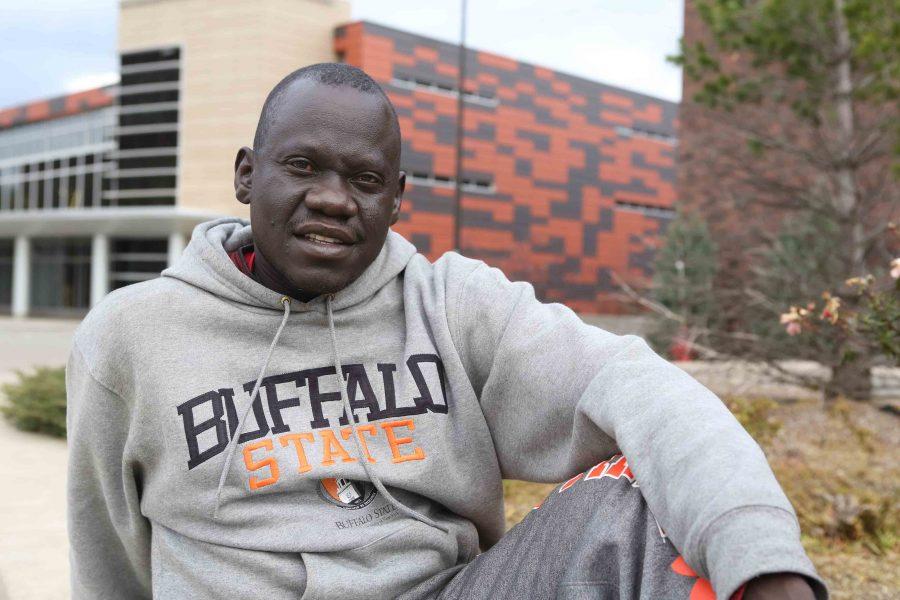 Kang Kerubino Guot survived a more than a 1,000 mile walk to Kenya.
