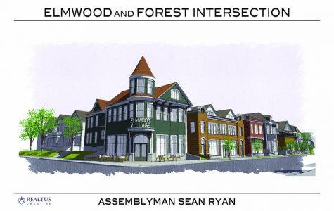 An alternative future for Elmwood Village proposed by Ryan