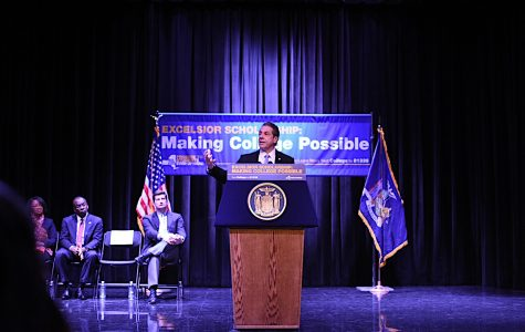 PHOTO GALLERY: Gov. Andrew Cuomo speaks at Buffalo State about Excelsior Scholarship