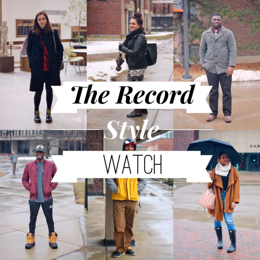 The Record Style Watch: Rainy Day, Bright Colors