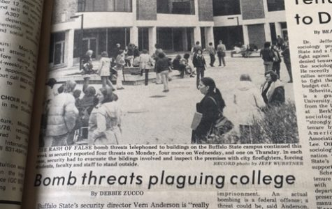 Buffalo State received 15 bomb threats in just two weeks in 1975