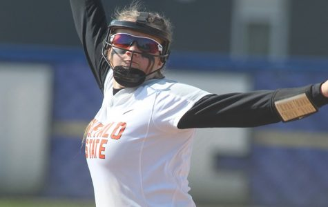 Pitcher Allie Block led the Bengals to two dubs on the road on Friday.