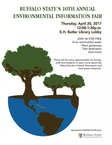 10th Annual Environmental Information Fair to be held April 20 at Buffalo State