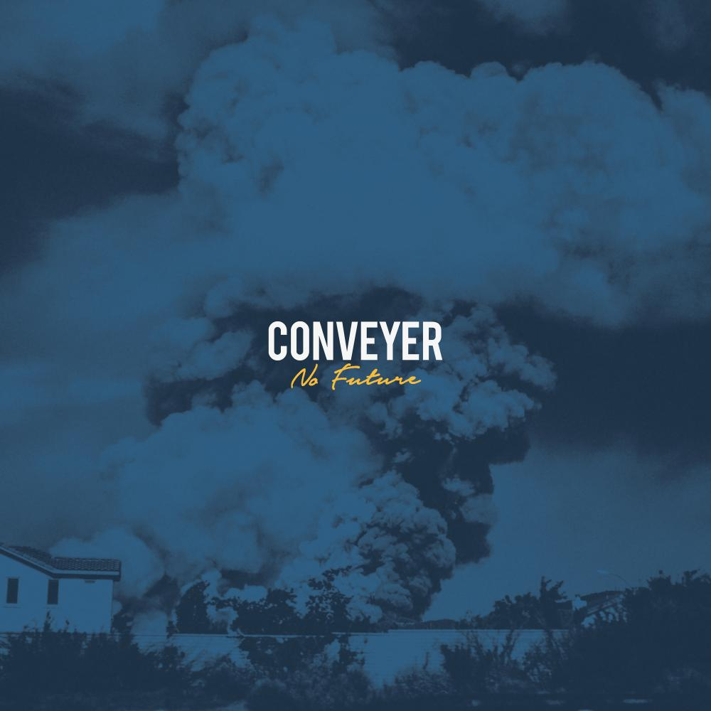 On their second album, No Future,  Conveyer go all out and give off enough energy to power an entire city. (Image courtesy of Victory Records)