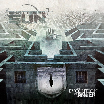 Anger is a huge driving point for Shattered Sun's sophomore album The Evolution of Anger. (Image courtesy of Victory Records)