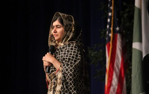 Nobel Prize winner and girl's education activist Malala inspires crowd of thousands at UB