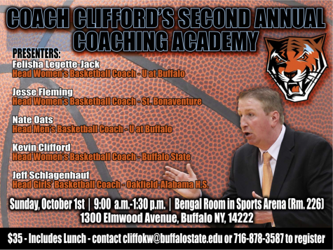 Women's Basketball to host Coaching Academy on Oct. 1
