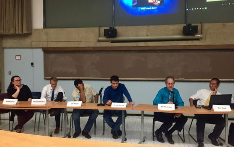 WGRZ journalists visit Buffalo State for panel about hurricane coverage