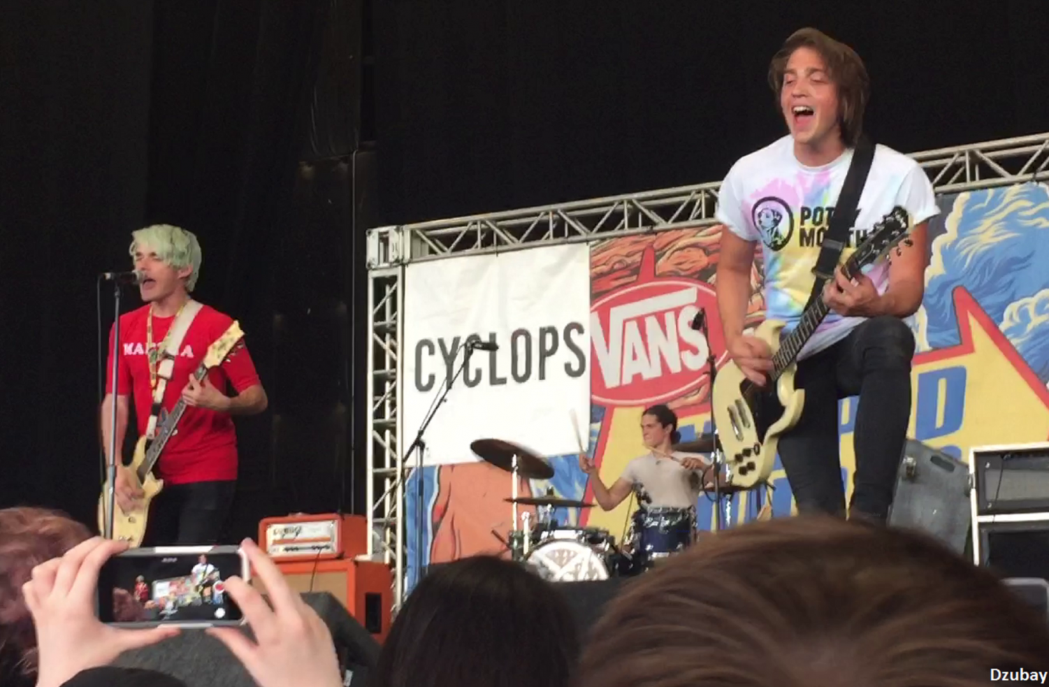 Waterparks, a pop rock trio from Houston, TX, are likely to play next year's Vans Warped Tour.
