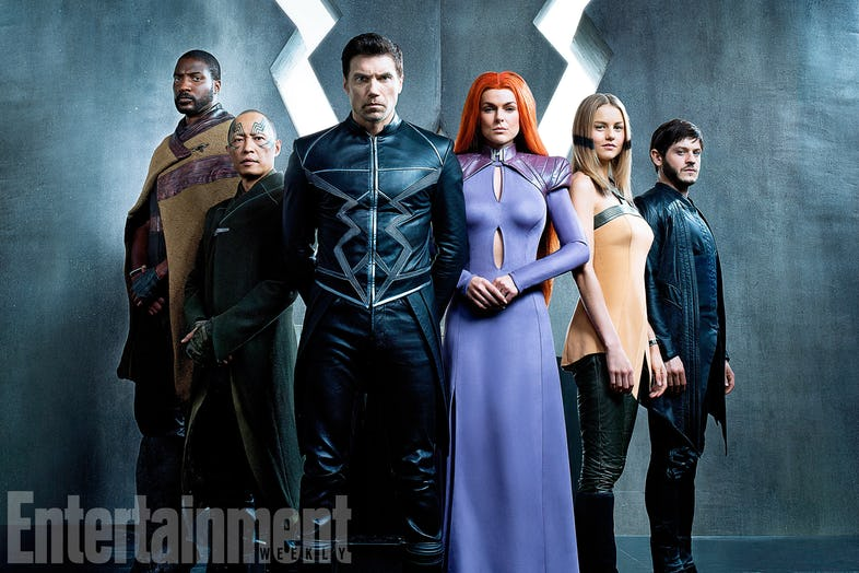 Review Marvel S The Inhumans Falls Short While The Gifted Looks Promising The Record