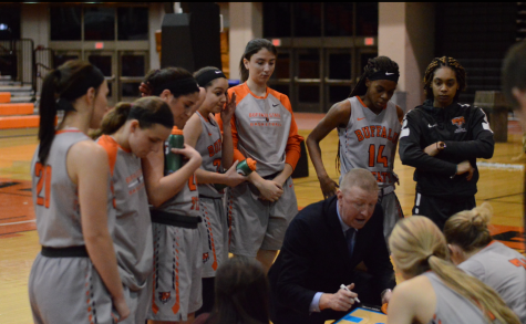 "Season comes down to ""Battle by the Lake"" for Women's Basketball"