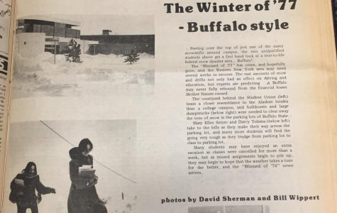 Throwback Thursday: Blizzard of '77 closed Buffalo State for two weeks