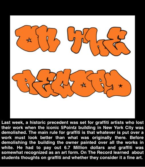 On The Record: Graffiti