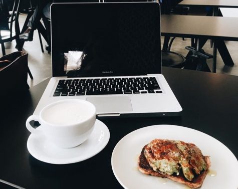 Yes, I have a photo I took of avocado toast, a latte and my laptop readily available.