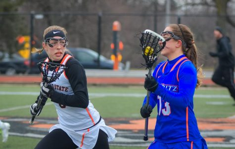 Ruggieri shines on Senior Day; Women's Lax beats New Platz, 15-5