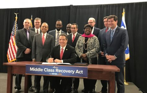 Gov. Cuomo signs Middle Class Recovery Act in Buffalo