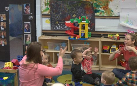 Buffalo State Childcare Center celebrates The Week of the Young Child