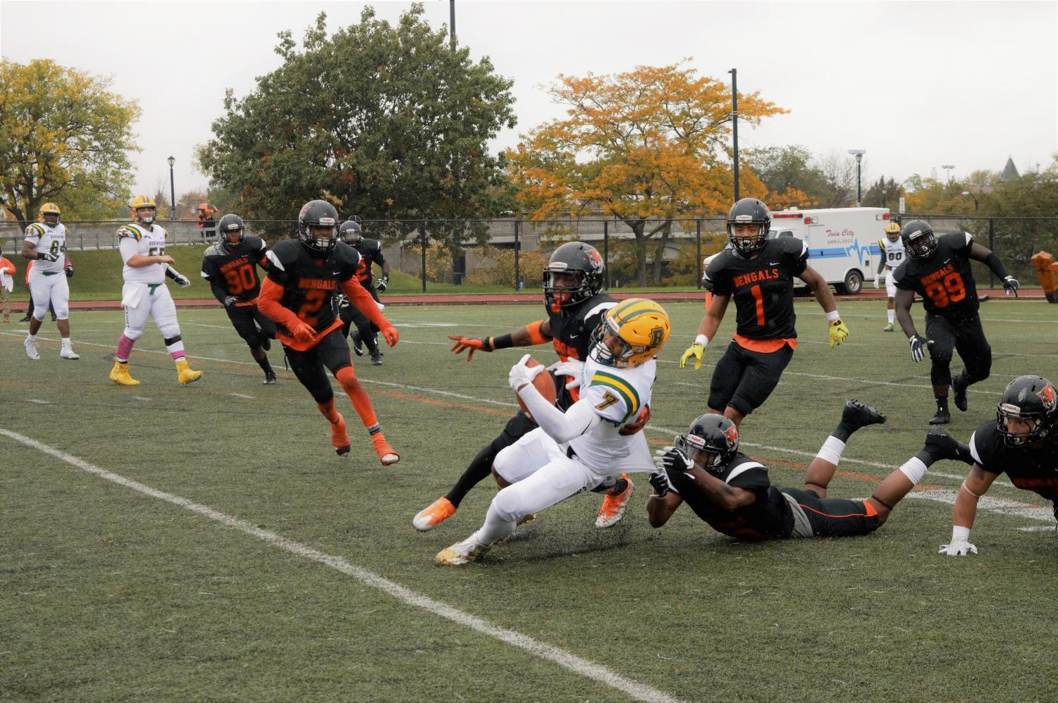 Buffalo State finished 2017 with a 6-5 overall record and appeared in their third bowl game in four years